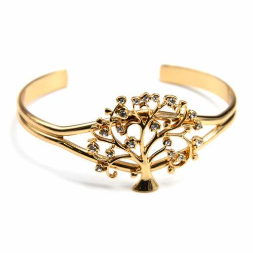 Bracelet-Jonc-Ouvert-avec-Arbre-de-Vie-Strass-et-Metal-Dore