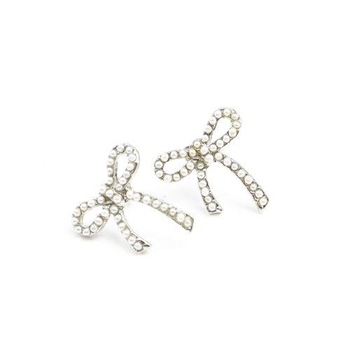 Boucles-dOreilles-Noeud-Orne-de-Mini-Perles-Ecru