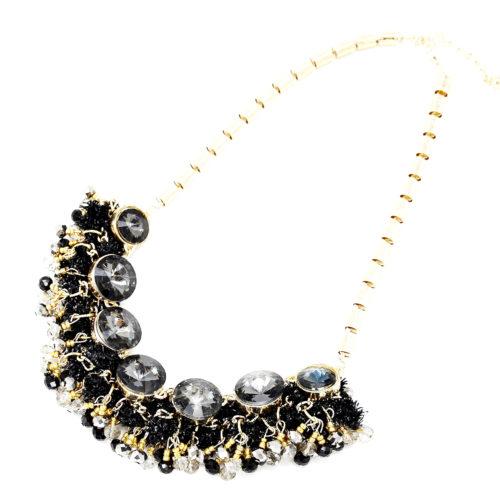 Collier-Plastron-Effet-Guirlande-avec-Perles-Facettes-NoirDore