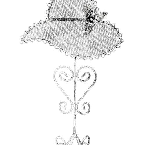 Presentoir-Bijoux-Chapeau-pour-Boucles-dOreilles-Gris-Patine