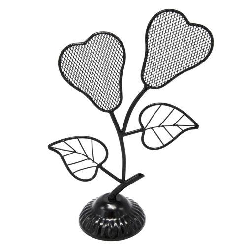 Presentoir-Bijoux-Fleurs-Poires-pour-Boucles-dOreilles-Noir