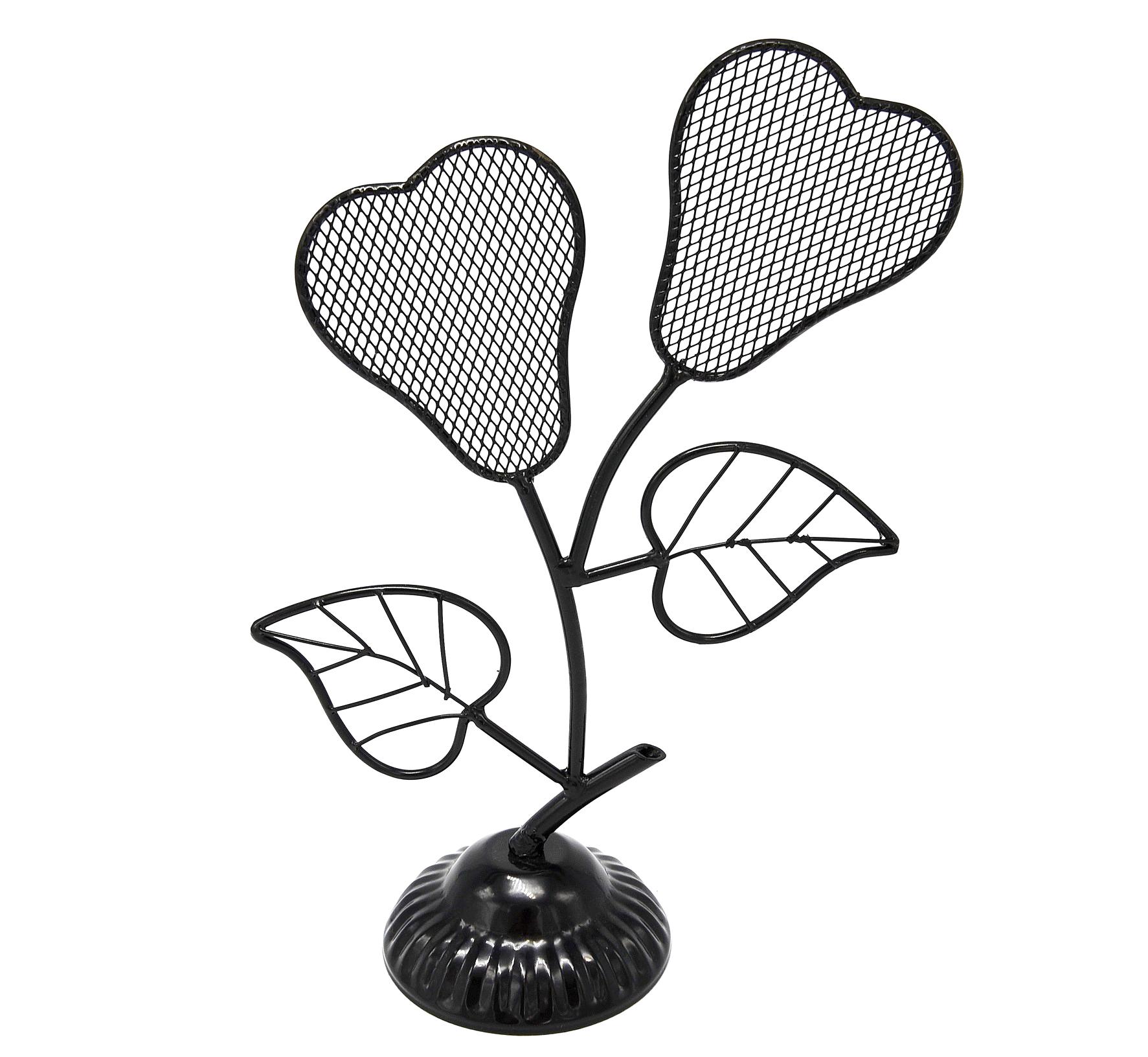 Prb07 pr sentoir bijoux fleurs poires et feuilles pour boucles d 39 oreilles noir oh my shop - Presentoire boucle d oreille ...