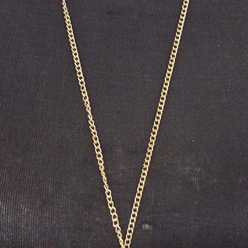 Sautoir-Collier-Metal-Dore-Pendentif-Grappe-de-Boules-a-Facettes-et-Perles-Multicolore