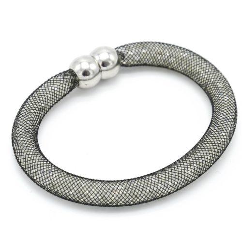 Bracelet-Aimante-Stardust-Tube-Resille-avec-Cristaux-BlancNoir