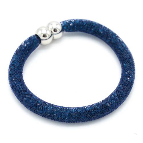 Bracelet-Aimante-Stardust-Tube-Resille-avec-Cristaux-Bleu-Fonce