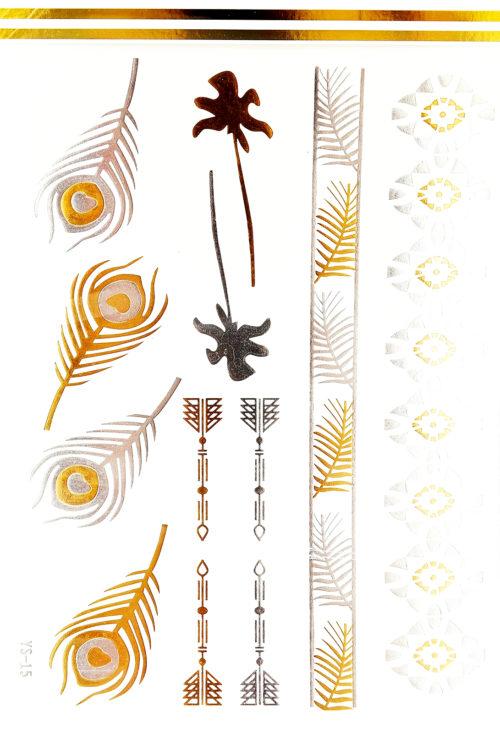 Planche-Tattoo-Tatouage-Ephemere-Body-Art-Assorti-ArgentOr