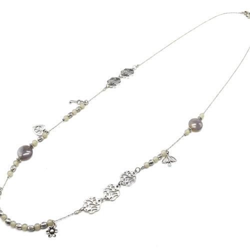 Sautoir-Collier-Fine-Chaine-Multi-Charms-Metal-Argente-et-Perles-Grises