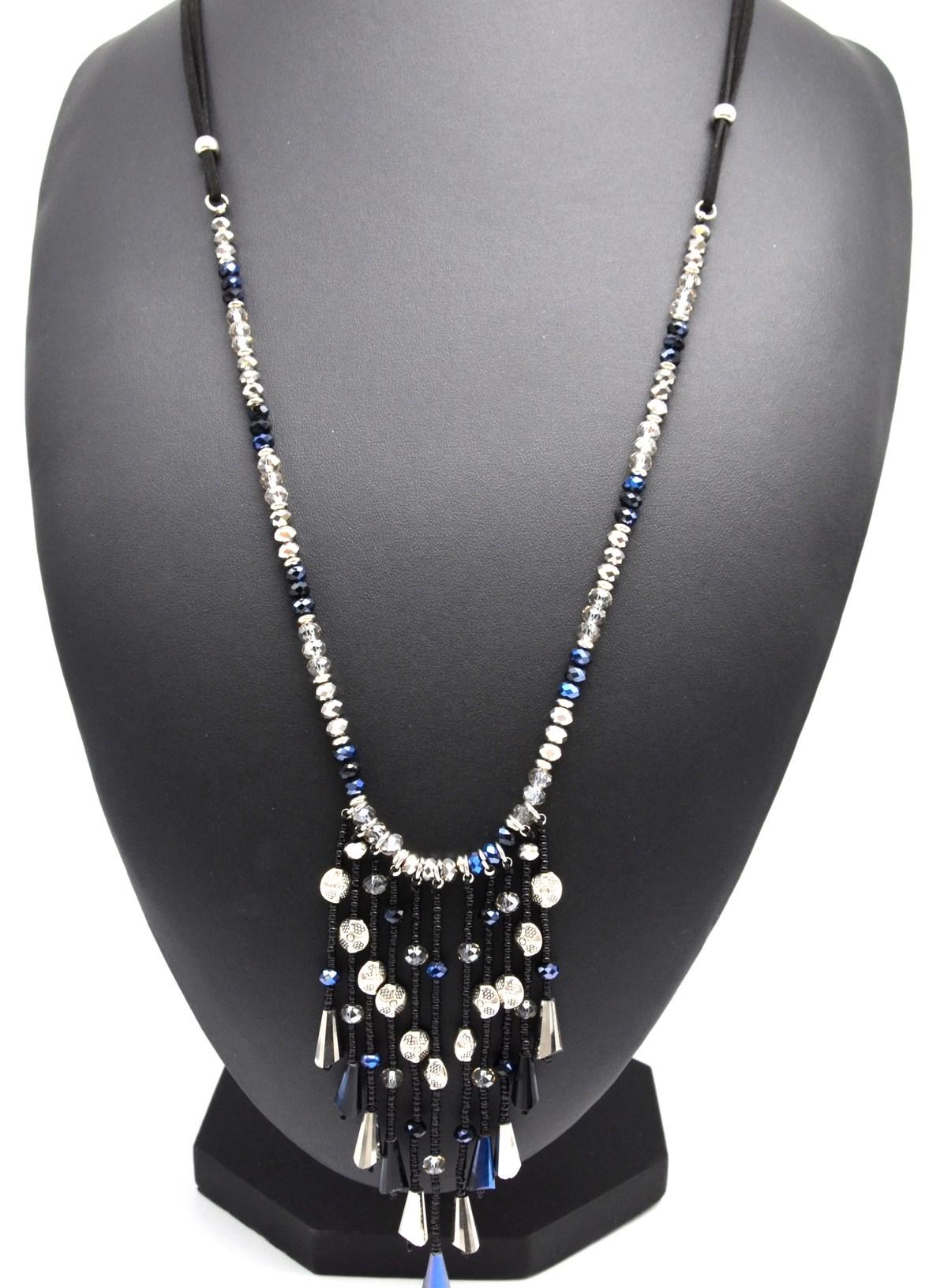 collier de perle en cascade