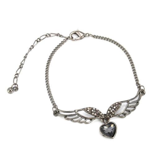 Bracelet-Chaine-Metal-avec-Charm-Ailes-dAnge-et-Coeur-Gris