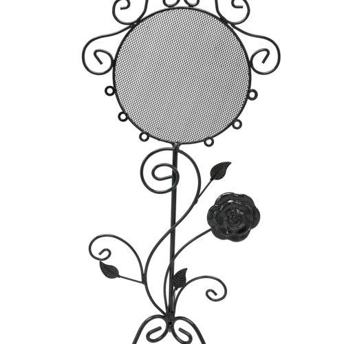 Presentoir-Bijoux-Miroir-Baroque-pour-Boucles-dOreilles-Noir
