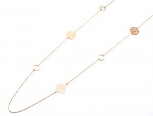 Sautoir-Collier-Fine-Chaine-avec-Cercles-Ouverts-et-Cercles-Ciseles-Arbre-de-Vie-Metal-Or-Rose