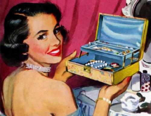 L'origine de la boîte à bijoux