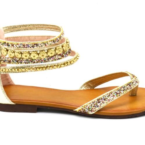 Sandales-Nu-Pieds-Simili-Cuir-Satine-avec-Multi-Brides-Paillettes-Fleurs-Perles