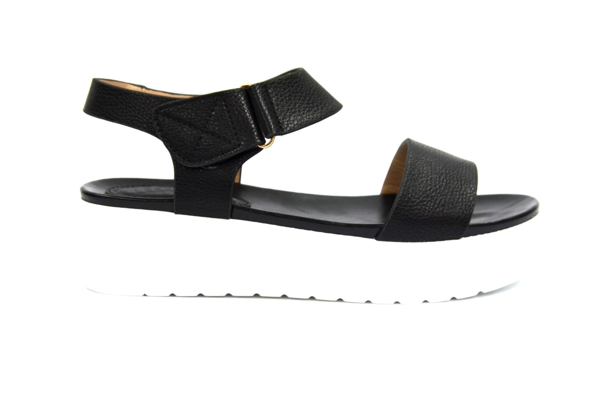 sandale a scratch noir