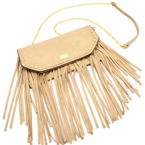 sac à bandoulière beige