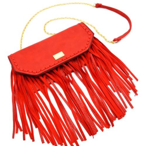 sac à bandoulière rouge