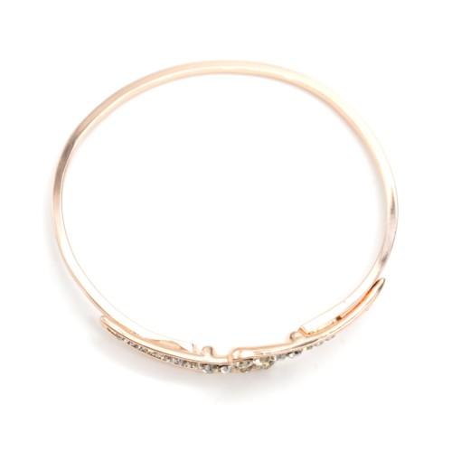Bracelet-Jonc-Ouvert-Metal-Or-Rose-avec-Bouts-Ornes-de-Strass