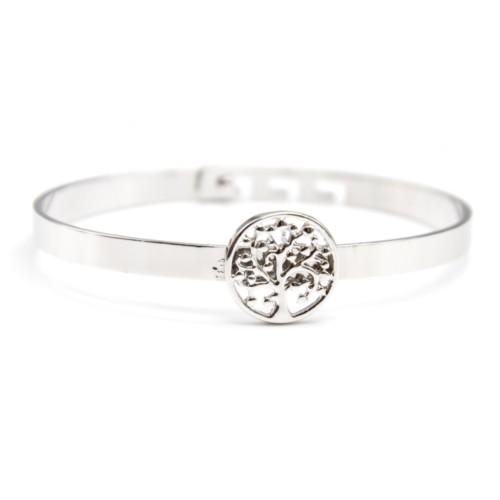 Bracelet-Jonc-avec-Cercle-Arbre-de-Vie-Ajoure-Metal-Argente