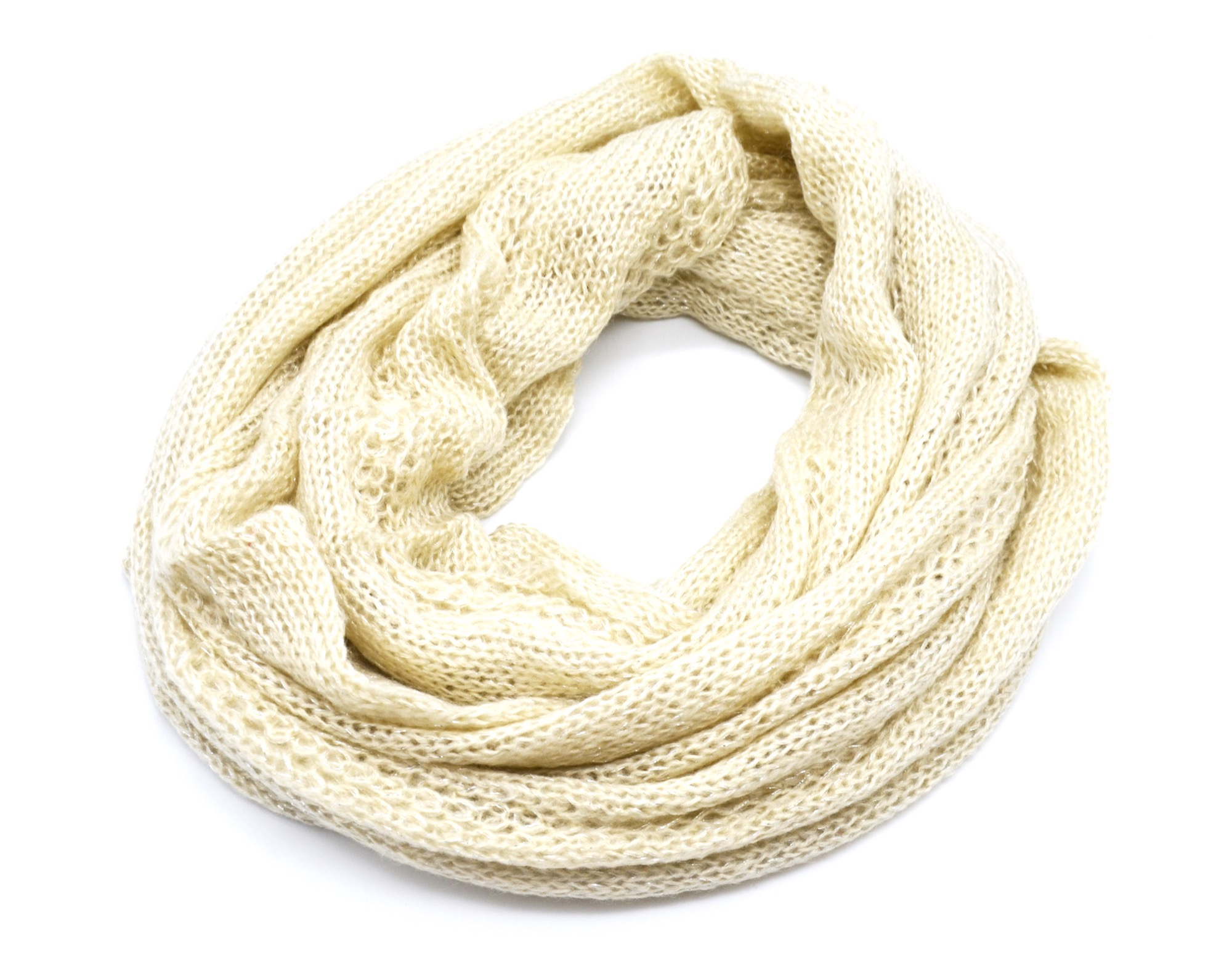 Echarpe Snood Tube Tour de Cou Automne Hiver Maille Style Pull Tricot... PSV56