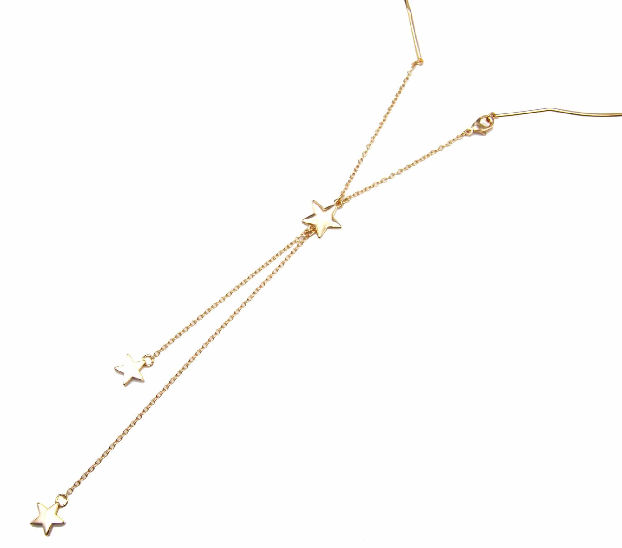 collier ras de cou avec chaine