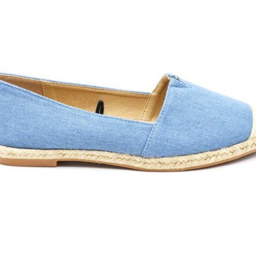 Espadrilles-Effet-Jean-Denim-Bleu-avec-Bout-et-Semelle-Paille