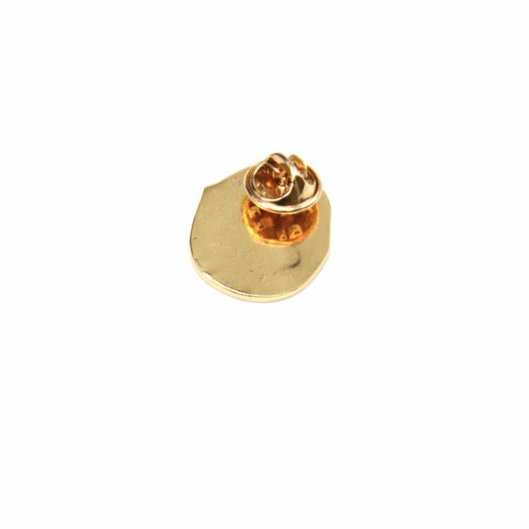 Mini-Broche-Pins-Bouche-Levres-Rose-et-Metal-Dore