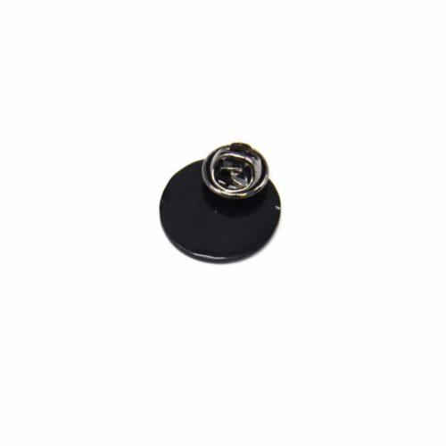 Mini-Broche-Pins-Cercle-Paysage-Montagne-Multicolore-et-Metal-Noir