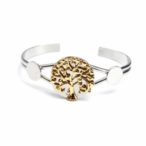 Bracelet-Jonc-Ouvert-avec-Medaille-Arbre-de-Vie-DoreArgente