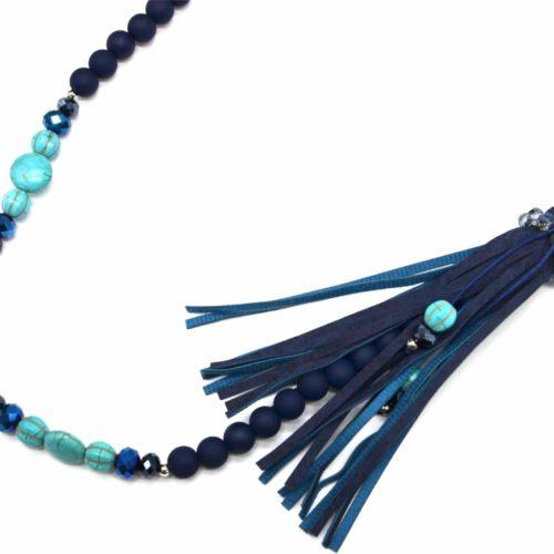 Sautoir-Collier-Perles-et-Pierres-avec-Bouddha-Effet-Marbre-Bleu-Turquoise-et-Franges