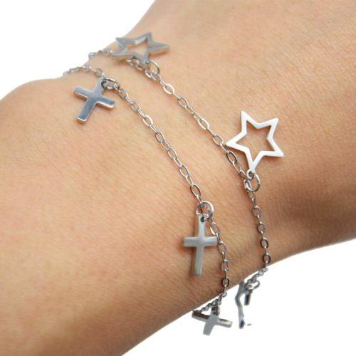 Bracelet-Fine-Chaine-avec-Multi-Charms-Acier-Argente