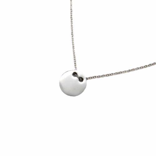 Collier-Fine-Chaine-avec-Pendentif-Medaille-Acier-Argente