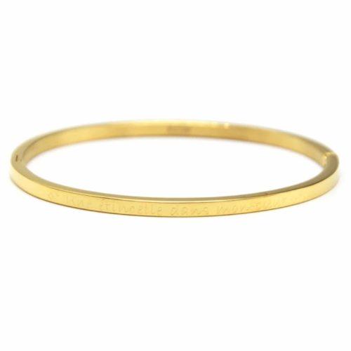 Bracelet-Jonc-Fin-Acier-Dore-avec-Message-Une-etincelle-dans-mon-coeur