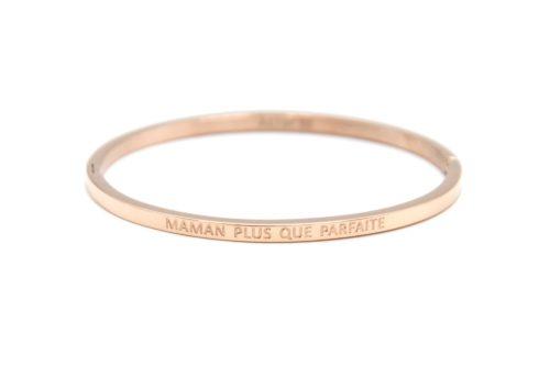 Bracelet-Jonc-Fin-Acier-Or-Rose-avec-Message-Maman-Plus-Que-Parfaite