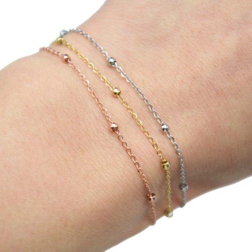 Bracelet-Fine-Chaine-Mini-Boules-Acier