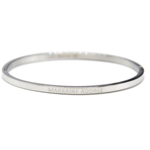 Bracelet-Jonc-Fin-Acier-Argente-avec-Message-Marraine-Adoree