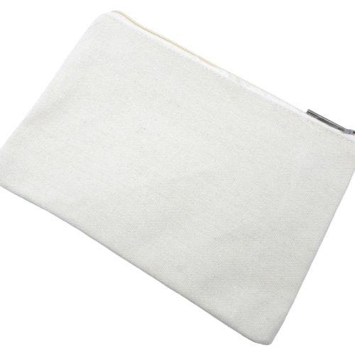 Trousse-Pochette-Tissu-Creme-Message-Imprime