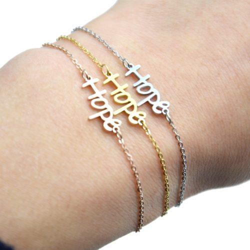 Bracelet-Fine-Chaine-avec-Charm-Hope-Acier