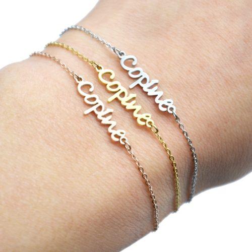 Bracelet-Fine-Chaine-avec-Charm-Copine-Acier