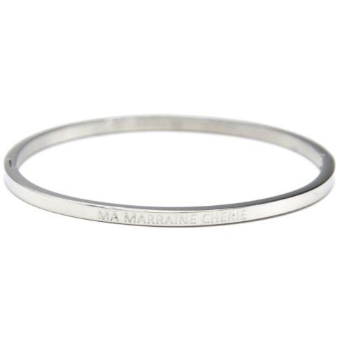Bracelet-Jonc-Fin-Acier-Argente-avec-Message-Ma-Marraine-Cherie