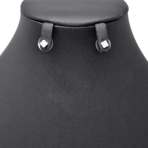 Boucles-dOreilles-Balancier-Mini-Trefle-Strass-Zirconium-Argente-et-Perles-Blanches