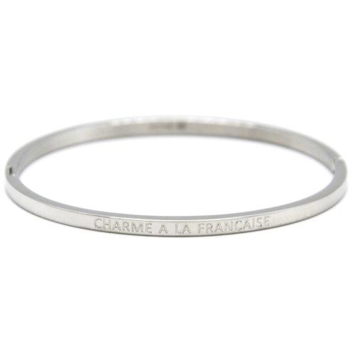 Bracelet-Jonc-Fin-Acier-Argente-avec-Message-Charme-A-La-Francaise