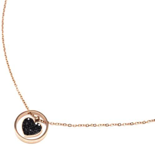 Rose noire photo Dôme Verre Cabochon Chaîne Collier Sautoir Pendentif #451