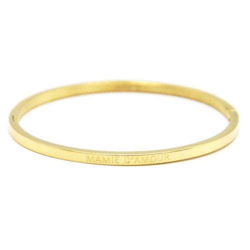 Bracelet-Jonc-Fin-Acier-Dore-avec-Message-Mamie-d-Amour