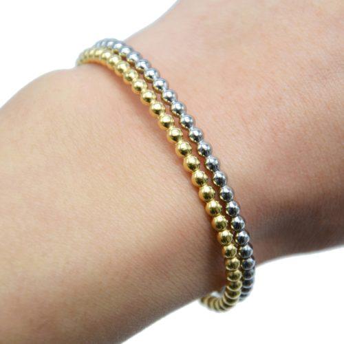 Bracelet-Jonc-Ouvert-avec-Multi-Billes-Acier