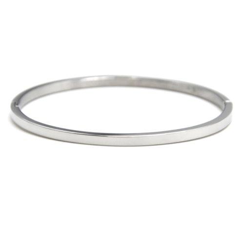 Bracelet-Jonc-Fin-Acier-Argente-Neutre-Sans-Gravure