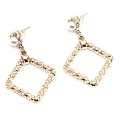 Boucles-dOreilles-Pendantes-Perle-et-Losange-Contour-Mini-Perles-Ecru