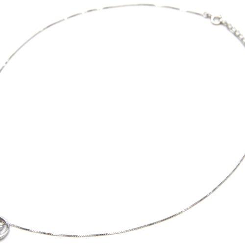Collier-Fine-Chaine-Argent-925-Pendentif-Double-Chats-Pierres-Zirconium-et-Lune
