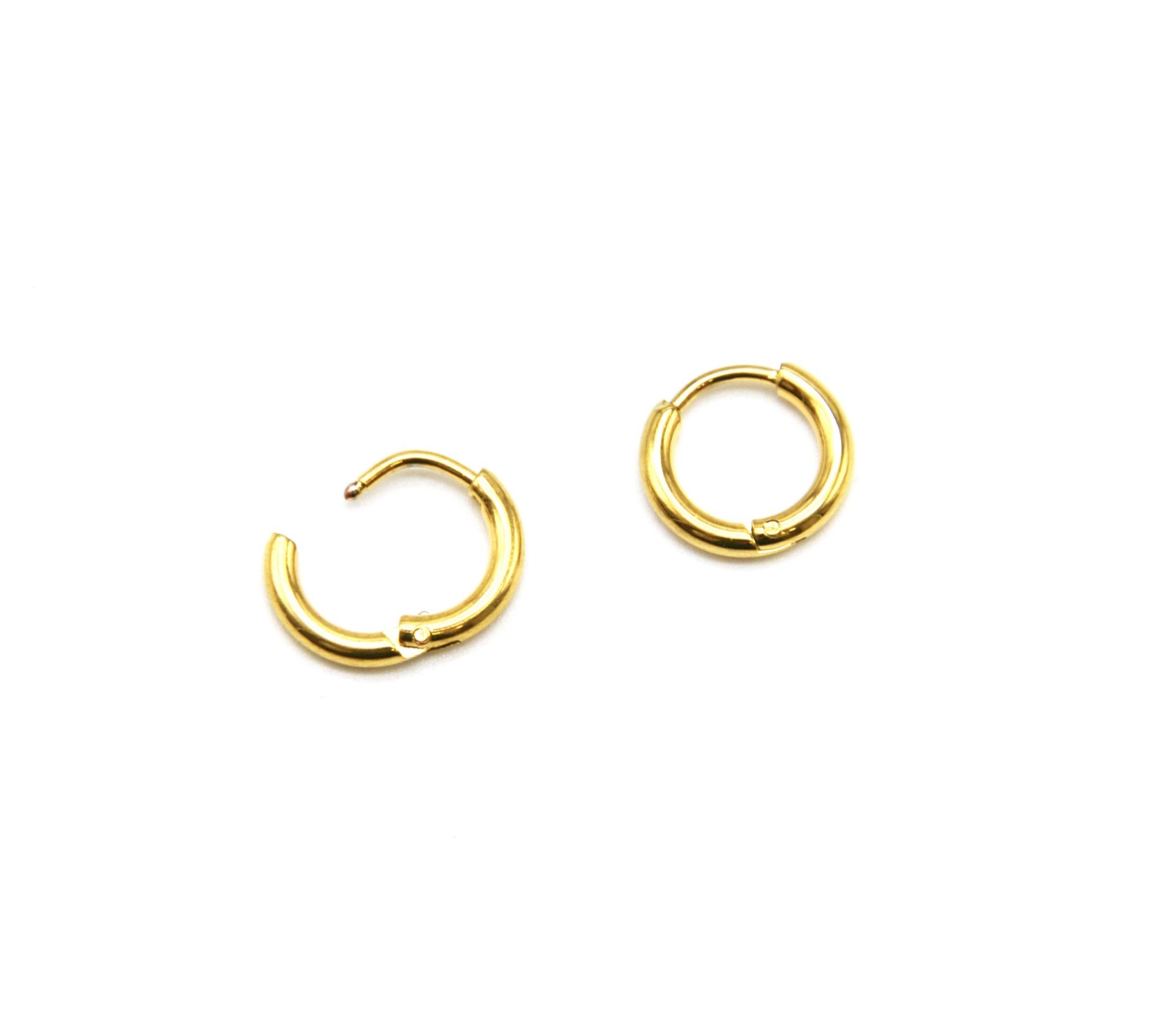mini anneau boucle d'oreille femme