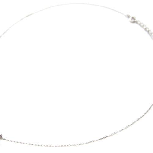 Collier-Fine-Chaine-Argent-925-Pendentif-Soleil-Pierre-et-Strass-Zirconium