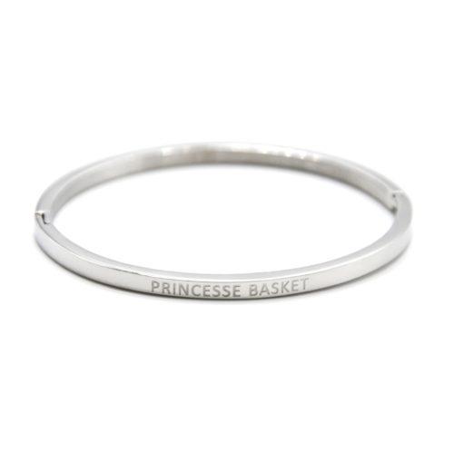 Bracelet-Enfant-Jonc-Fin-Acier-Argente-avec-Message-Princesse-Basket